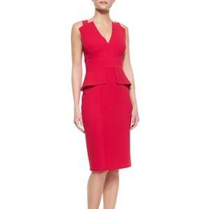 Bcbg alena sexy red dress